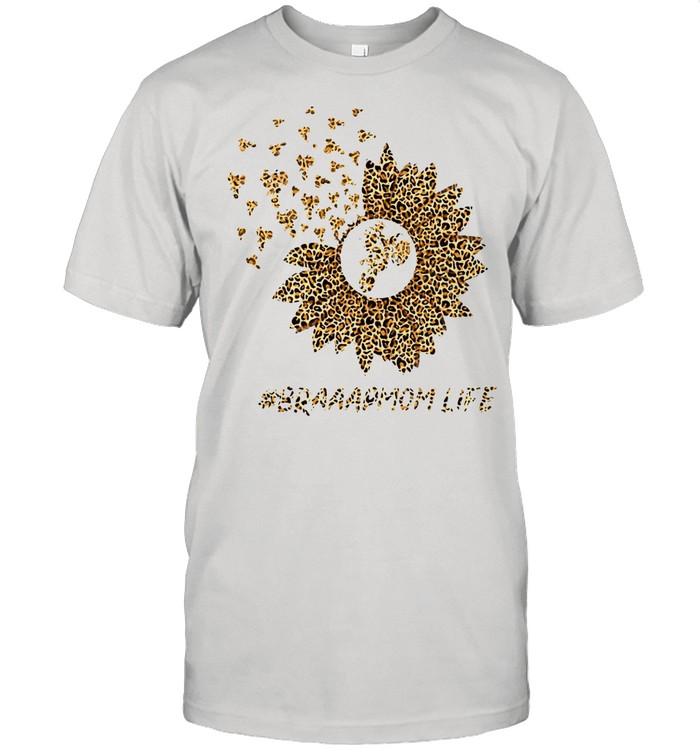 Flower Motocross Braaap Mom Life T-shirt