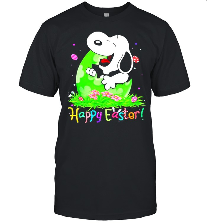 Happy Easter Snoopy Egg Shirt