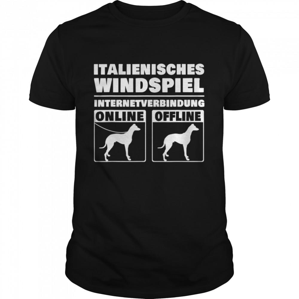 Italienisches Windspiel Online Italian Greyhound Windhund Shirt