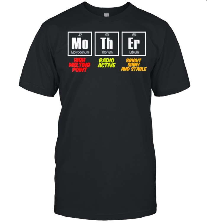 Mother Periodic Table – Funny Science Mothers Day shirt