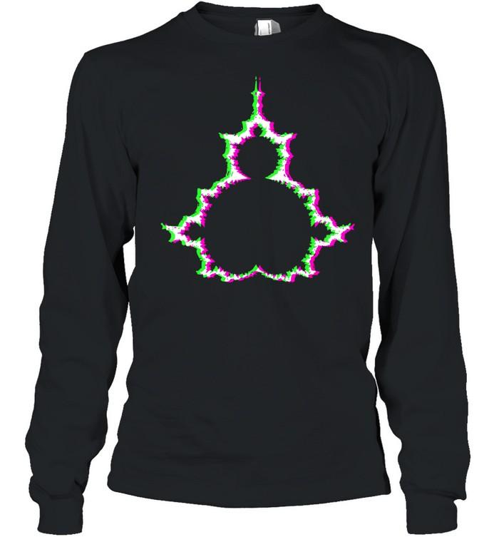 Psychodelische Mandelbrotmenge Abstraktes Apfelmännchen shirt Long Sleeved T-shirt