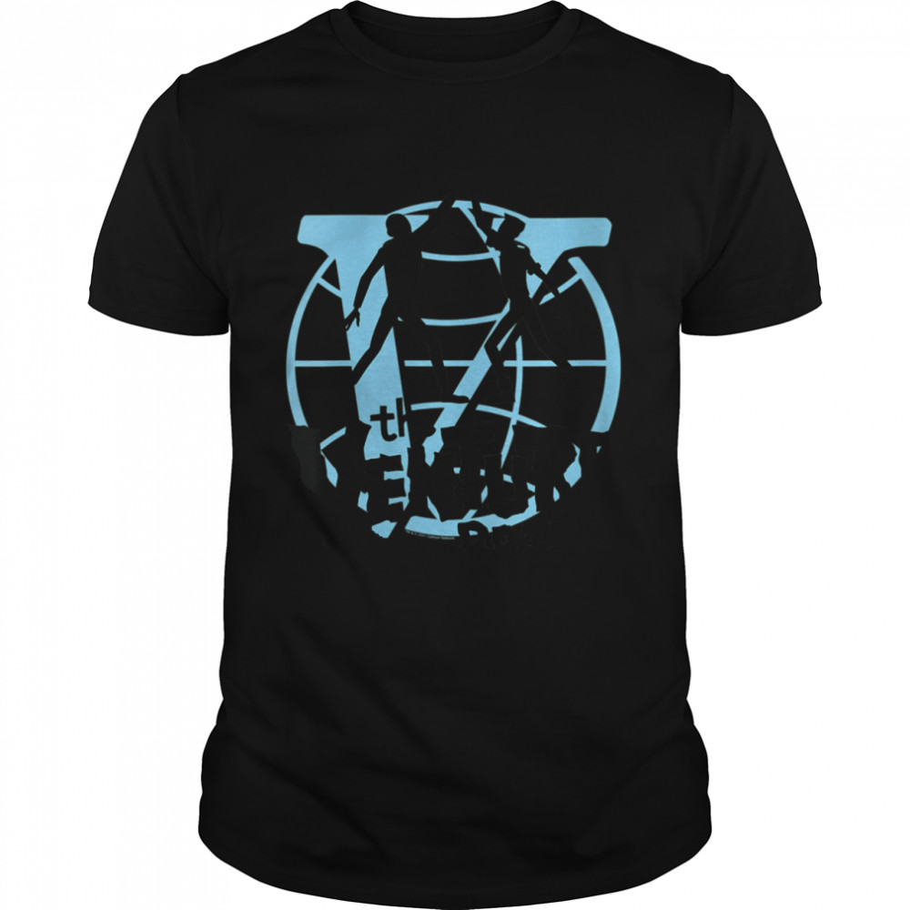 The Venture Brothers High Five Silhouettes with Globe Logo Shirt