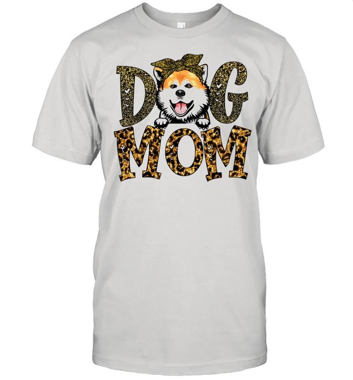 Akita Dog Mom Mother's Day Shirt