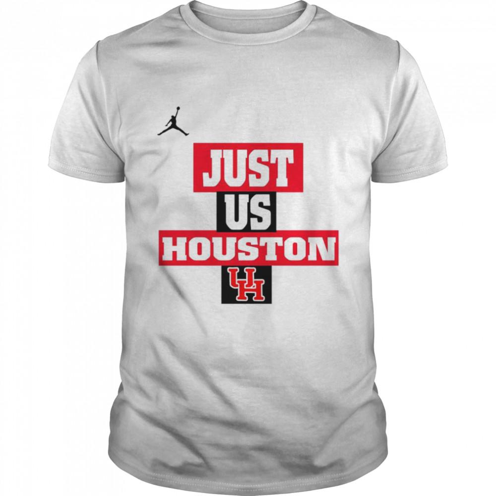 Houston Cougars Jordan Just Us Houston shirt