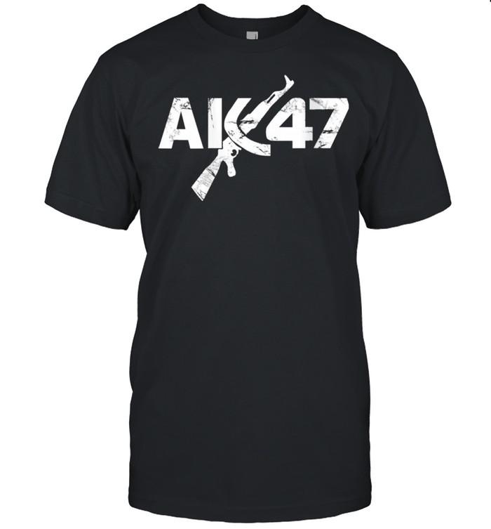 CCCP Original Ak47 Vintage USSR kalashnikov Shirt