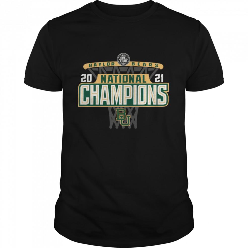 Baylor Bears 84 2021 NCAA Mens Basketball National Champions Bracket shirt
