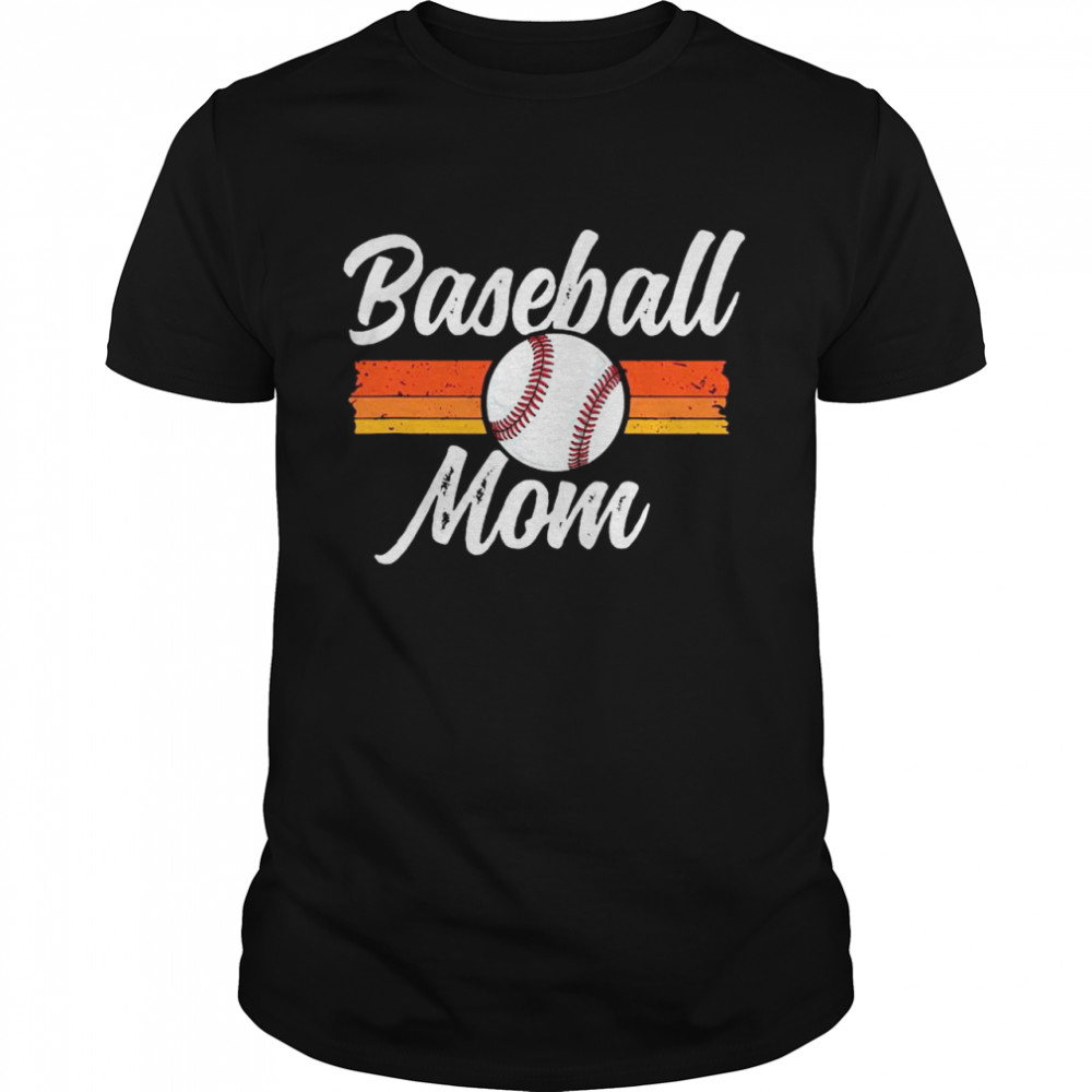 Mom Baseball Shirt Mother's Day Gift For Her Mama School shirt