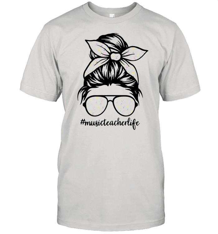 Musical Note Girl Music Teacher Life shirt