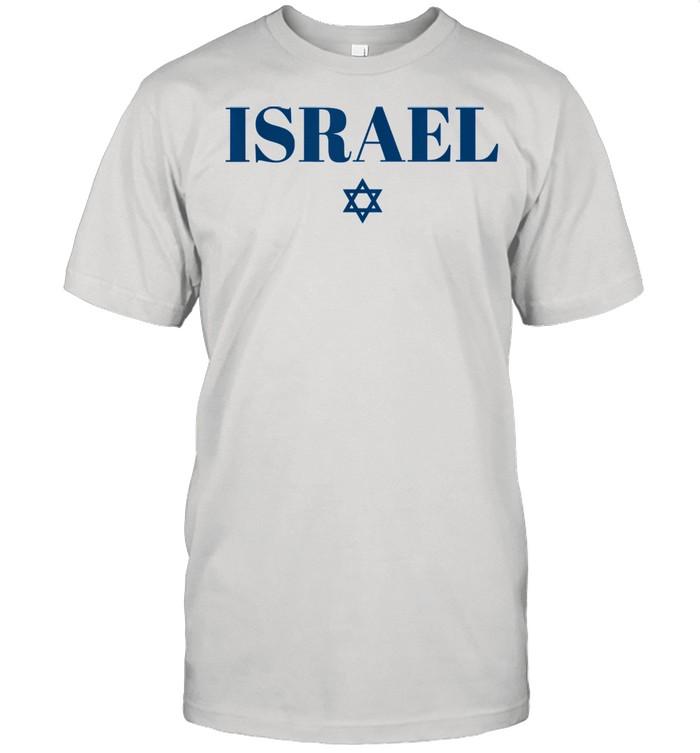 Israel Star Flag White Israel Shirt