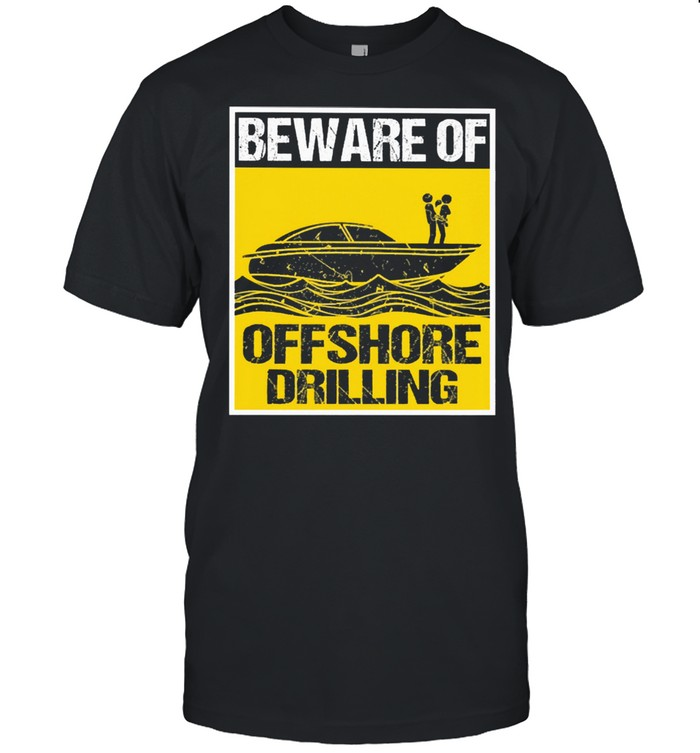 powerboat offshore drilling shirt