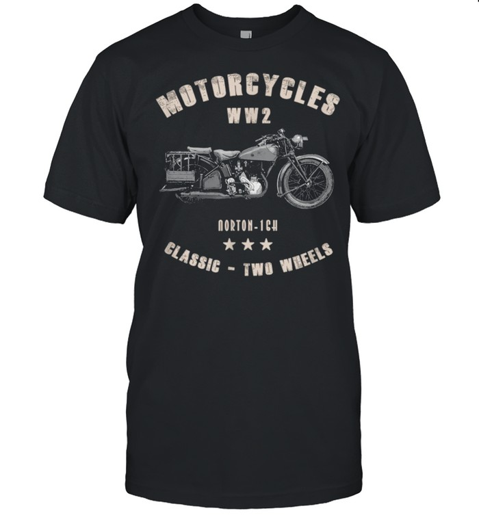 Norton16H Classic Motorcycle WW2 shirt