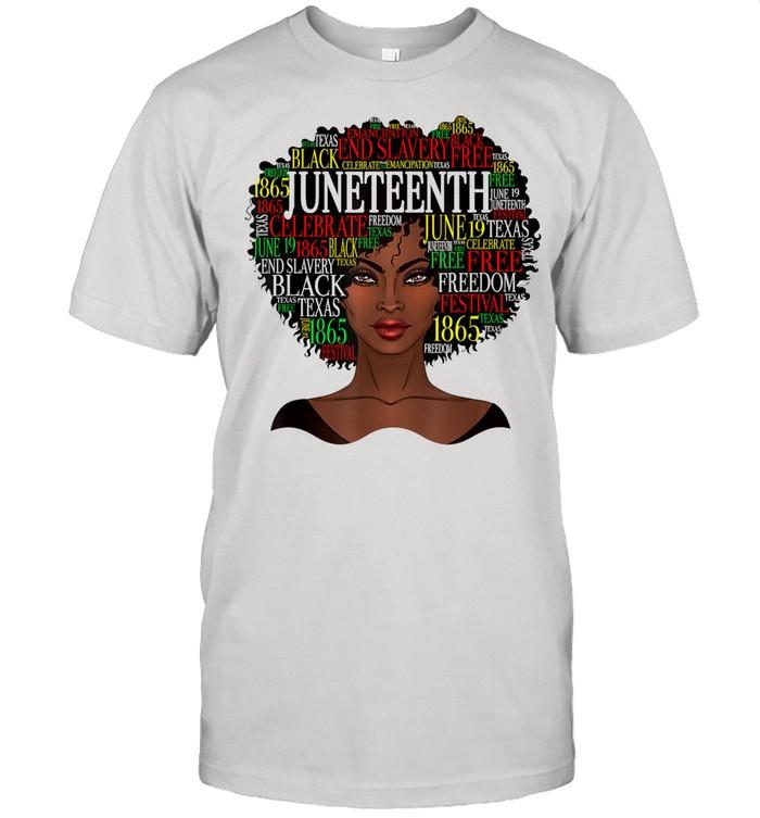 Black girl Juneteednth shirt