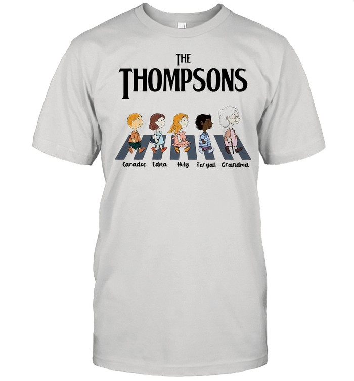 The Thompsons Caradoc Edna Holy Fergal Grandma abbey road shirt