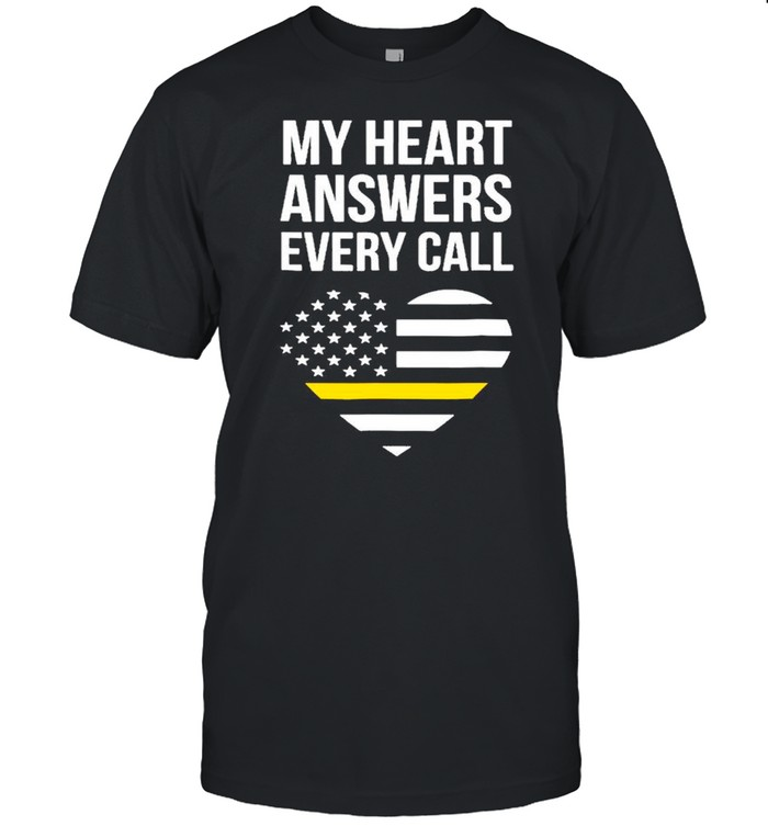 My Heart Answers Every Call Mother Day shirt Classic Men's T-shirt