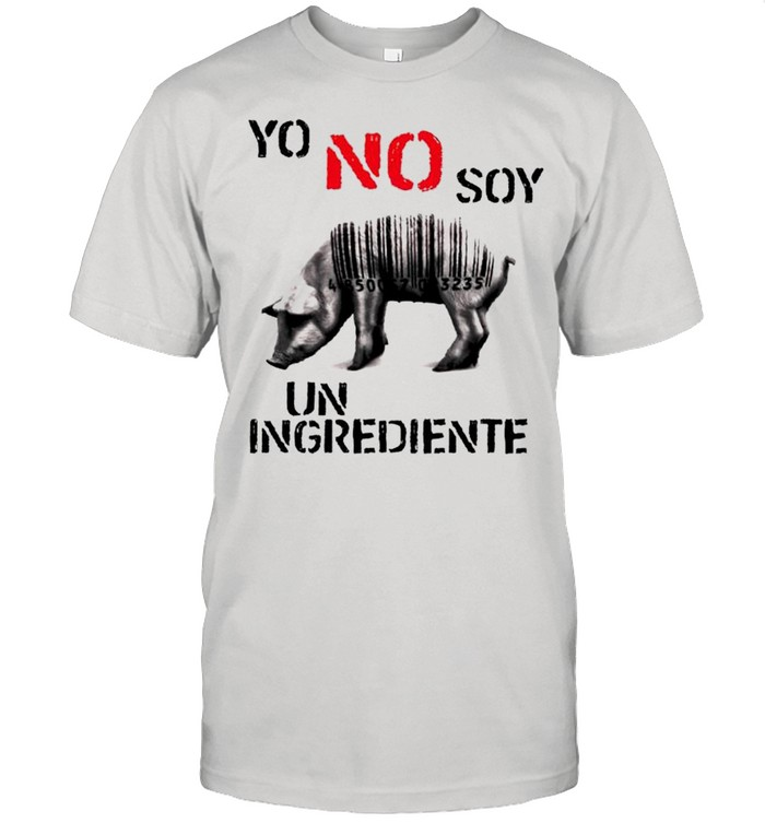 Pig yo no soy un ingrediente shirt Classic Men's T-shirt