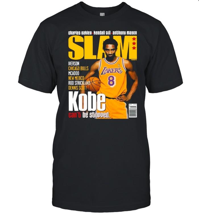 SLAM Kobe Bryant LA Lakers Can't Be Stopped shirt Classic Men's T-shirt