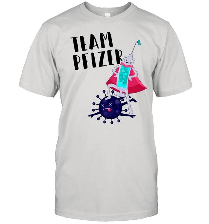 Vaccinated Team Pfizer 2021 shirt Classic Men's T-shirt