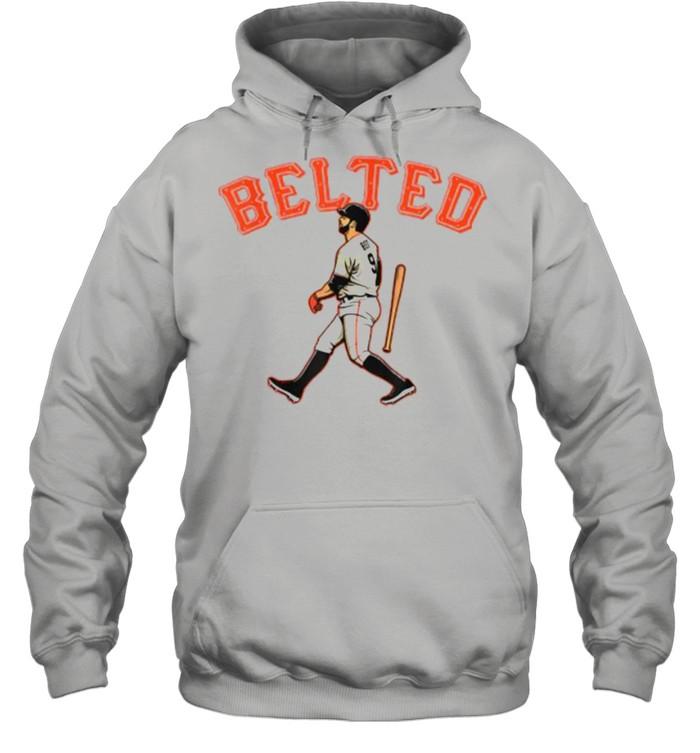 Belted Brandon Belt baseball  Unisex Hoodie