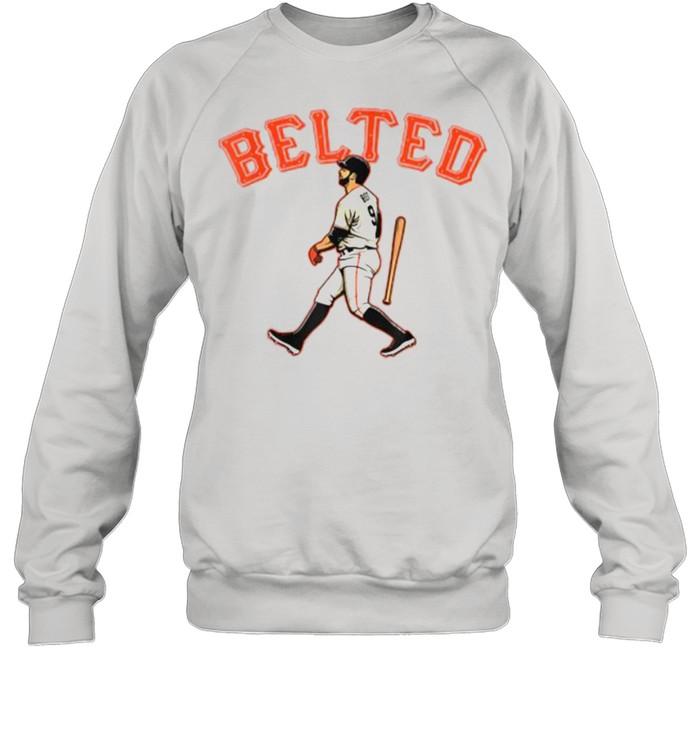 Belted Brandon Belt baseball  Unisex Sweatshirt