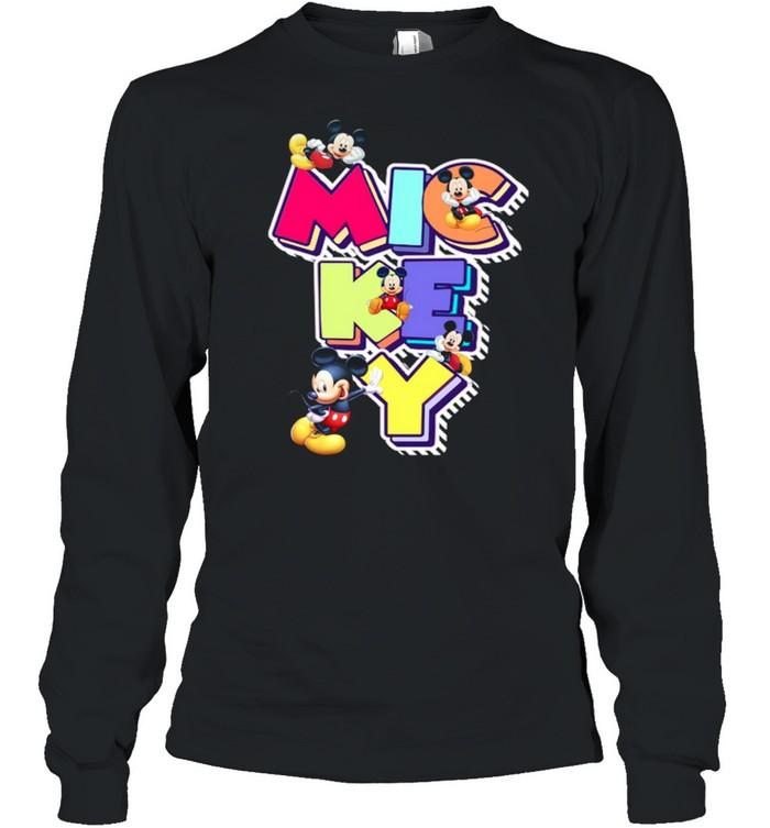 Mickey shirt Long Sleeved T-shirt