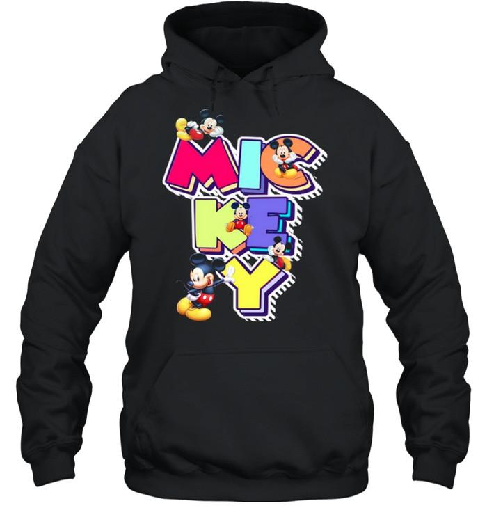 Mickey shirt Unisex Hoodie