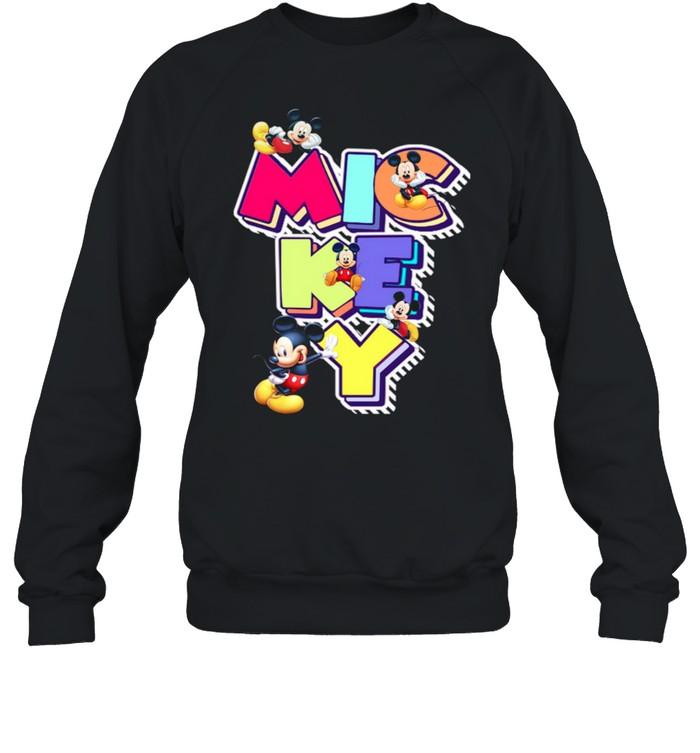 Mickey shirt Unisex Sweatshirt