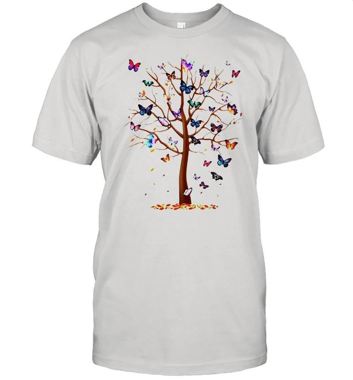 Butterfly Tree Beautiful T-shirt Classic Men's T-shirt
