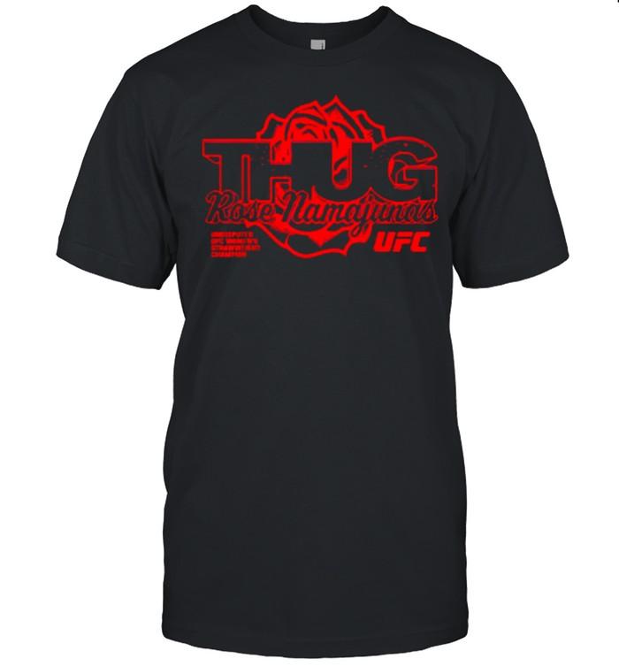 Rose Mamajunas Merch Thug Rose Strawweight Champion  Classic Men's T-shirt