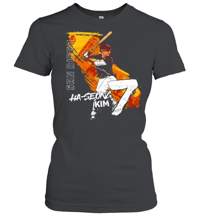 San Diego Baseball Ha-Seong Kim 7 signature shirt Classic Women's T-shirt