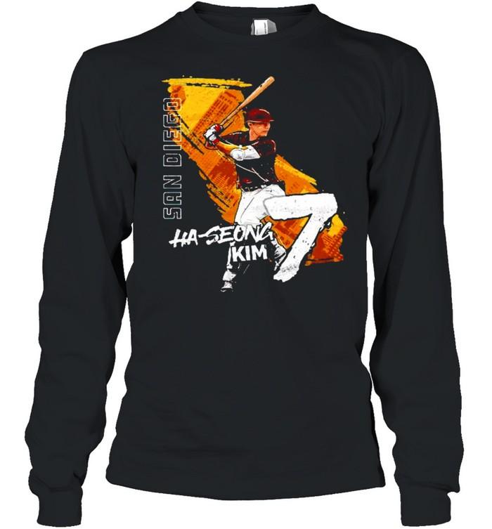 San Diego Baseball Ha-Seong Kim 7 signature shirt Long Sleeved T-shirt