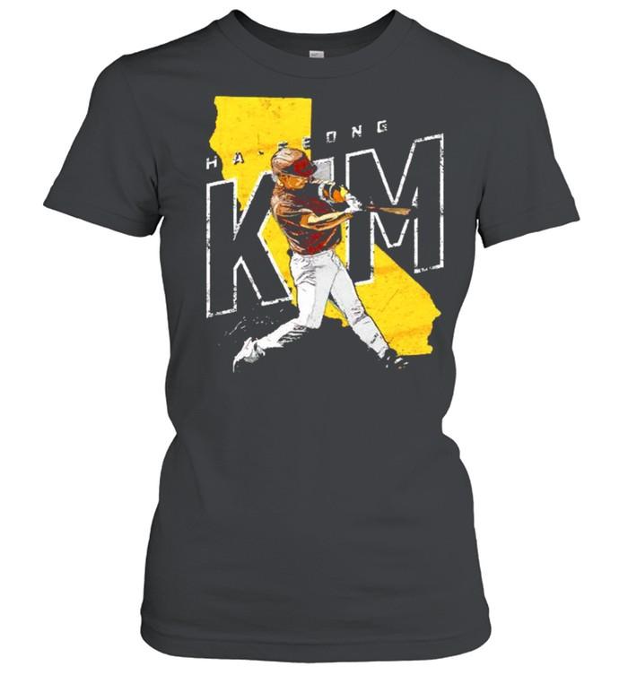 San Diego Baseball Ha Seong Kim signature shirt Classic Women's T-shirt