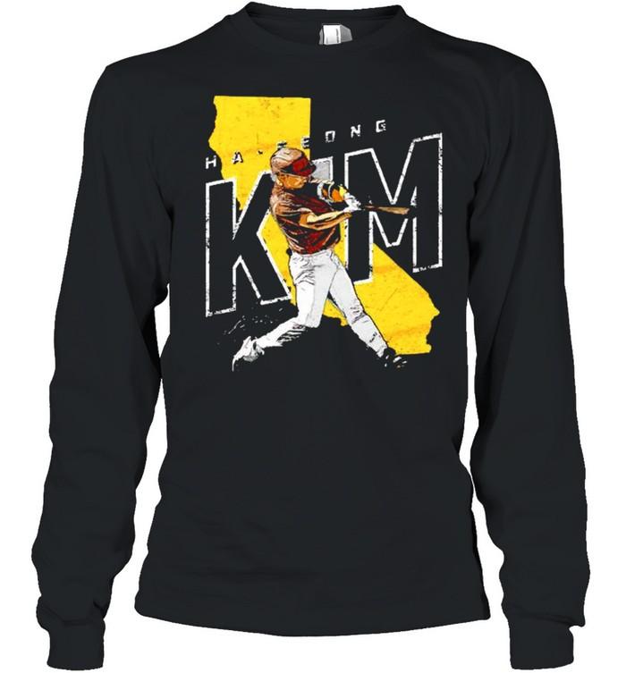 San Diego Baseball Ha Seong Kim signature shirt Long Sleeved T-shirt