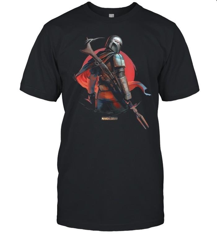Star Wars The Mandalorian Dusty shirt Classic Men's T-shirt