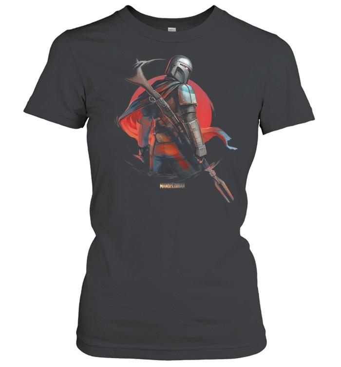 Star Wars The Mandalorian Dusty shirt Classic Women's T-shirt