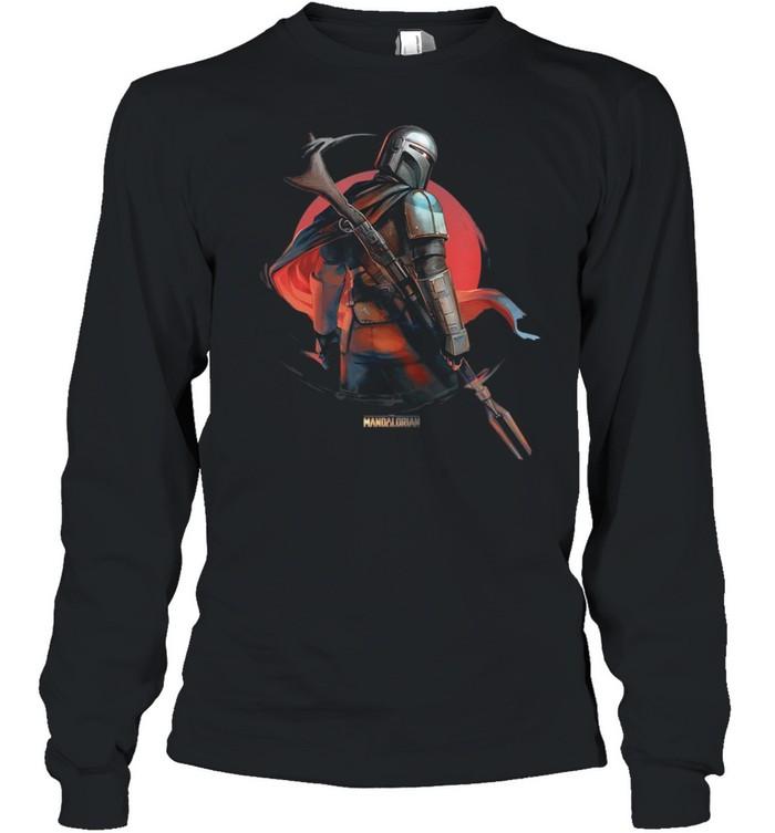 Star Wars The Mandalorian Dusty shirt Long Sleeved T-shirt