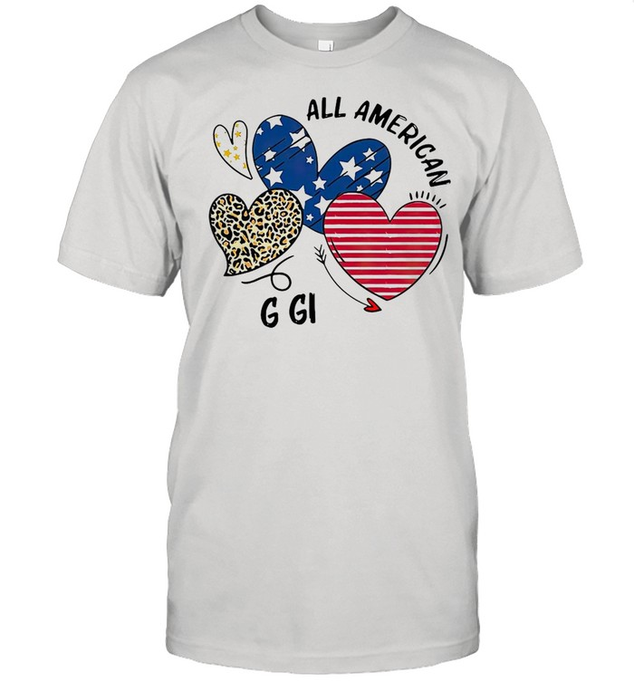 Heart All American Gigi T-shirt Classic Men's T-shirt