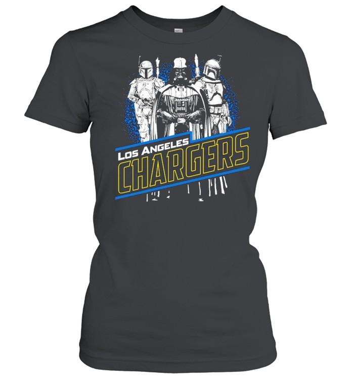 Star War Los Angeles Chargers shirt Classic Women's T-shirt