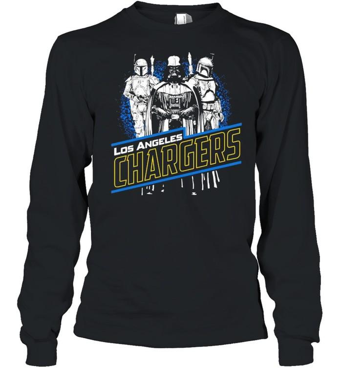 Star War Los Angeles Chargers shirt Long Sleeved T-shirt