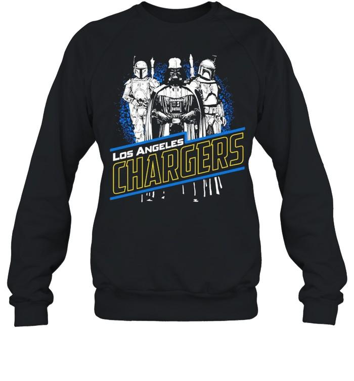 Star War Los Angeles Chargers shirt Unisex Sweatshirt