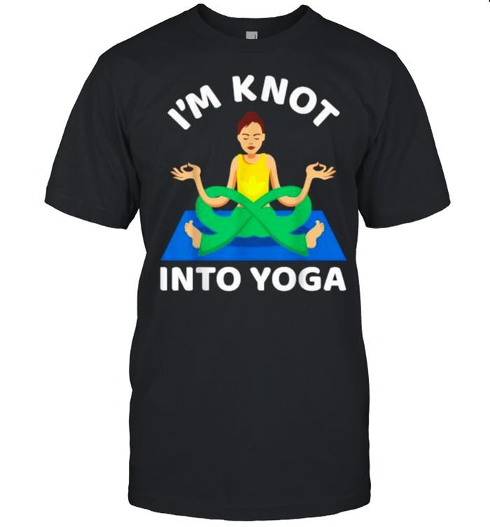 I'm Knot Into Girl Yoga  Classic Men's T-shirt