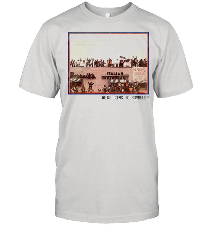 Were going to borrellis shirt Classic Men's T-shirt