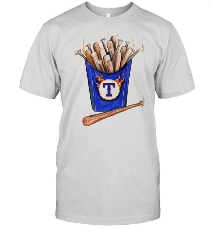 Texas Rangers Hot Bats shirt Classic Men's T-shirt