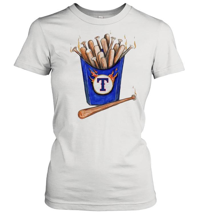 Texas Rangers Hot Bats shirt Classic Women's T-shirt