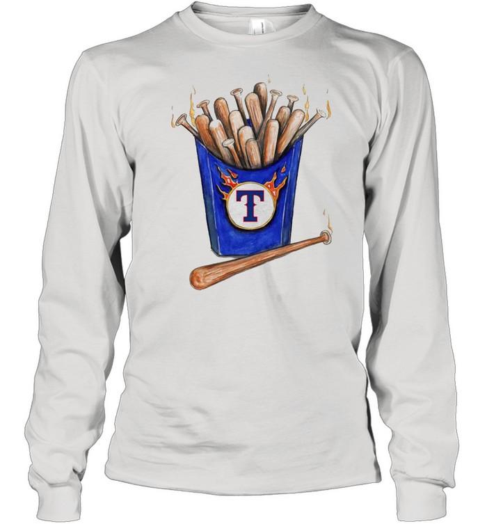 Texas Rangers Hot Bats shirt Long Sleeved T-shirt