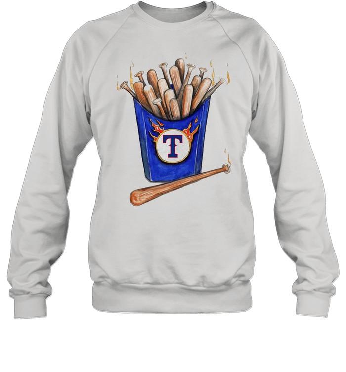 Texas Rangers Hot Bats shirt Unisex Sweatshirt