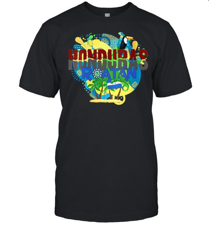 Honduras Roatán Islas de la Bahía shirt Classic Men's T-shirt