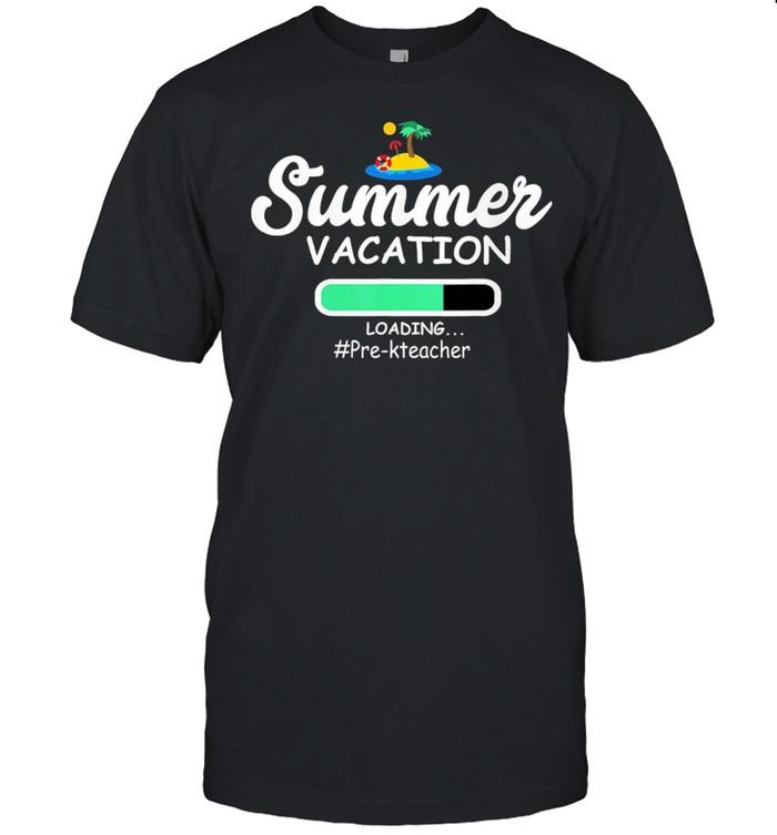 Summer Vacation Loading Pre-KTeacher shirt Classic Men's T-shirt