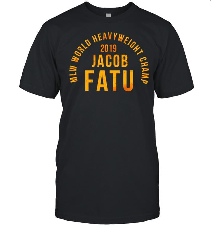 MLW world heavyweight champ Jacob Fatu shirt Classic Men's T-shirt