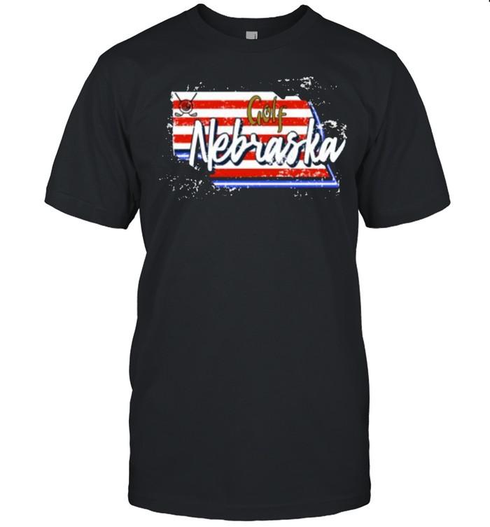 Nebraska golf for golfers T- Classic Men's T-shirt
