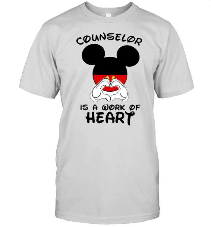 Counselor Is A Work Of Heart Mickey  Classic Men's T-shirt